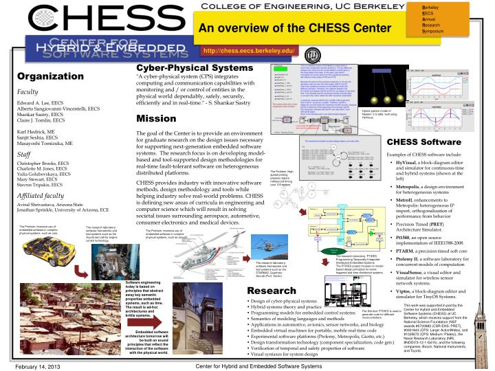 an overview of the chess center n.