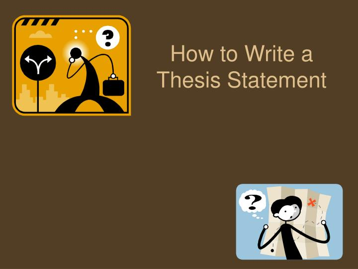 how to write a thesis statement n.