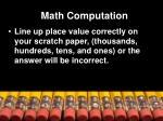 math computation1