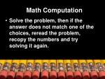 math computation2