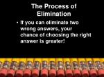 the process of elimination1