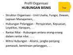 profil organisasi hubungan bisnis