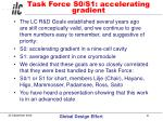 task force s0 s1 accelerating gradient