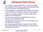 unnamed task forces