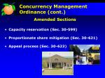 concurrency management ordinance cont1