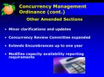 concurrency management ordinance cont2