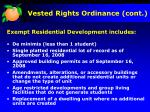 vested rights ordinance cont1