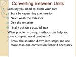 converting between units1