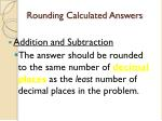 rounding calculated answers1