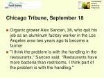 chicago tribune september 18