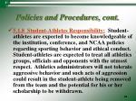 policies and procedures cont16