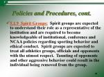 policies and procedures cont17