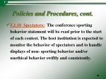policies and procedures cont18