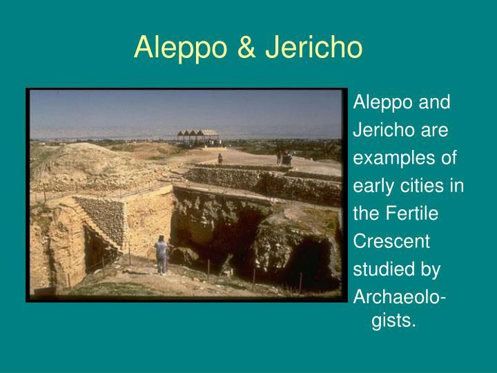 Aleppo & Jericho
