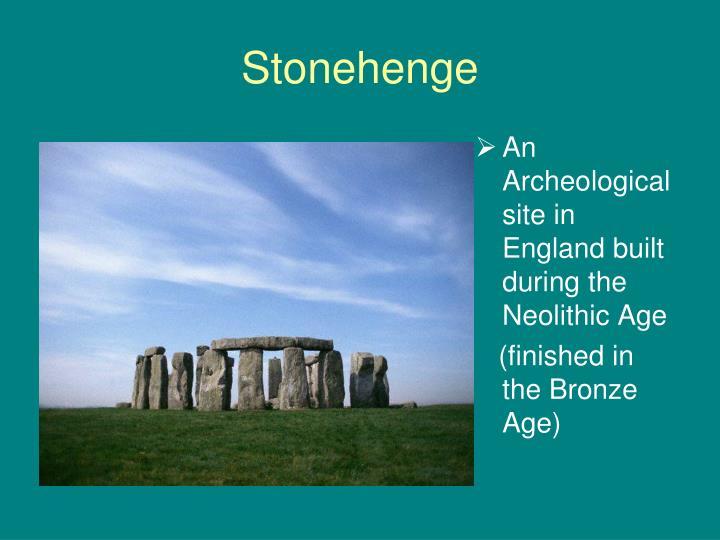 An archeological