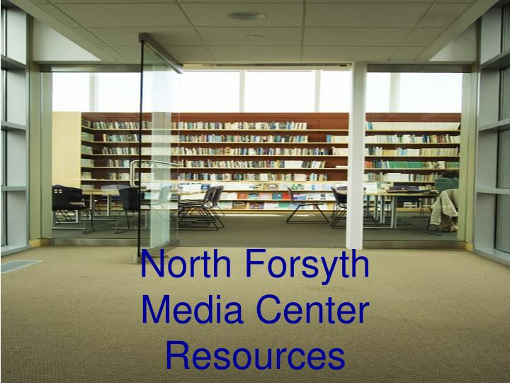 north forsyth media center resources n.