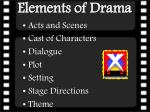 elements of drama1