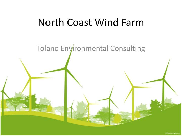 north coast wind farm n.