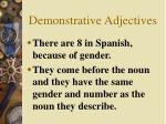 demonstrative adjectives1
