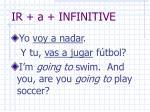 ir a infinitive1