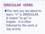 irregular verbs1