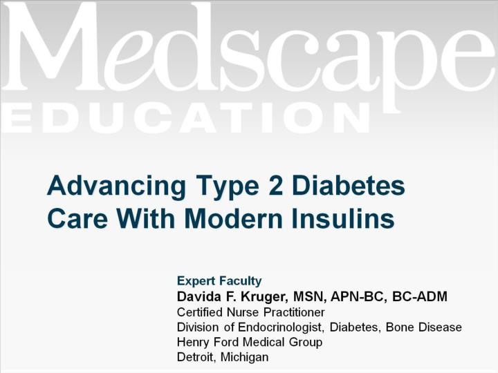 advancing type 2 diabetes care with modern insulins n.