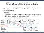 3 identifying of the original revision1