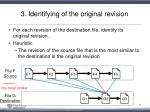3 identifying of the original revision2