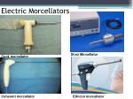 electric morcellators