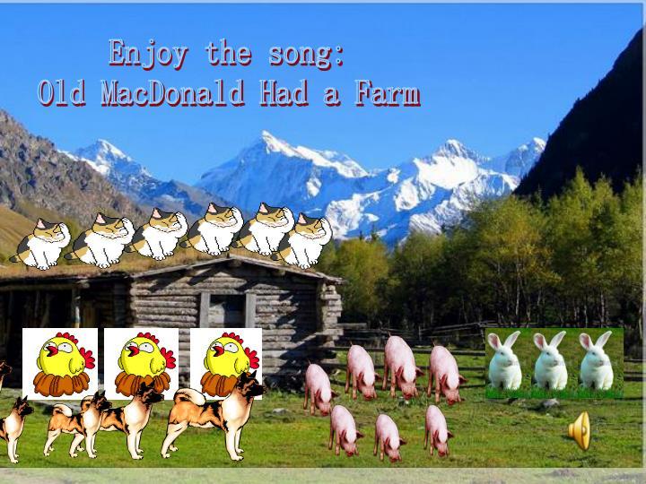 Enjoy the song: