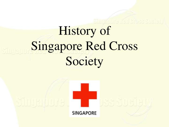history of singapore red cross society n.