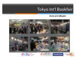 tokyo int l bookfair