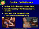cardiac defibrillators