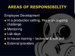 areas of responsibility1