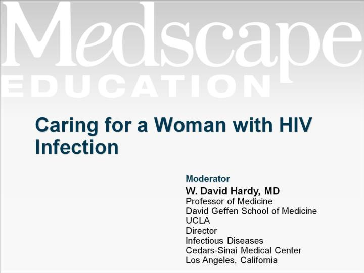 caring for a woman with hiv infection n.