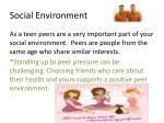 social environment1
