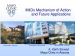 imids mechanism of action and future applications