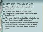quotes from leonardo da vinci