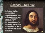 raphael 1483 1520