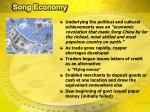 song economy