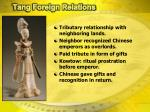 tang foreign relations