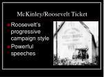 mckinley roosevelt ticket