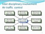 inter disciplinary involvement air t raf fic control