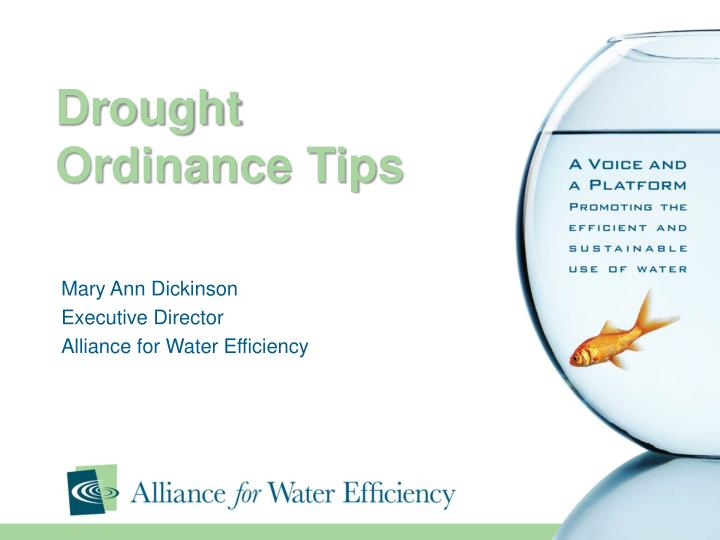 drought ordinance tips n.