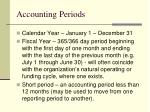 accounting periods
