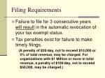 filing requirements1