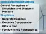 causes of increased scrutiny2