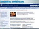 resources www irs gov