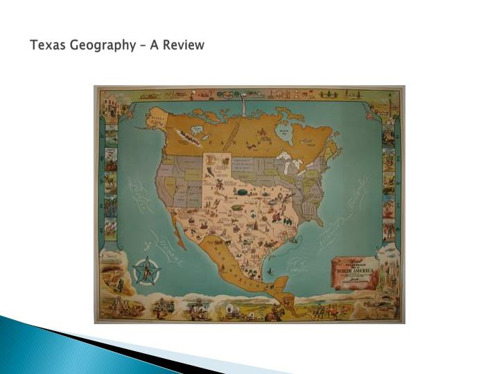 Texas geography a review