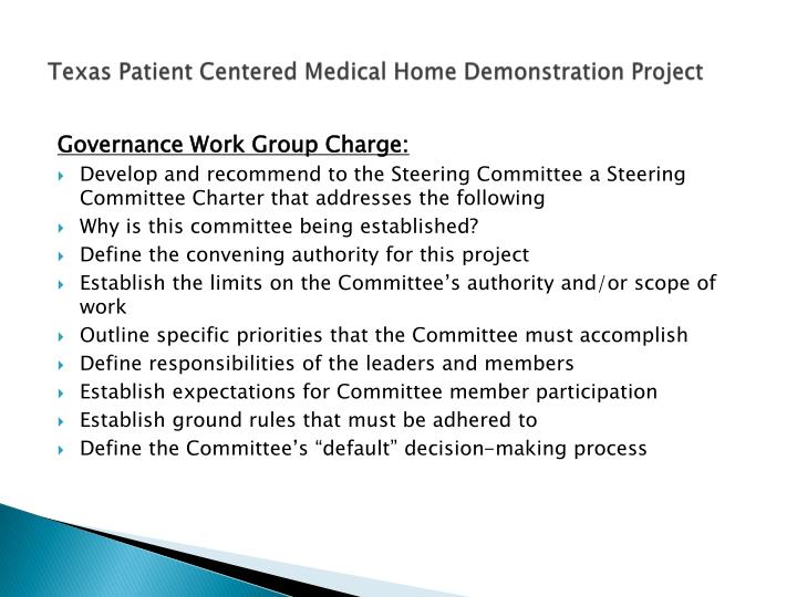 Texas Patient Centered Medical Home